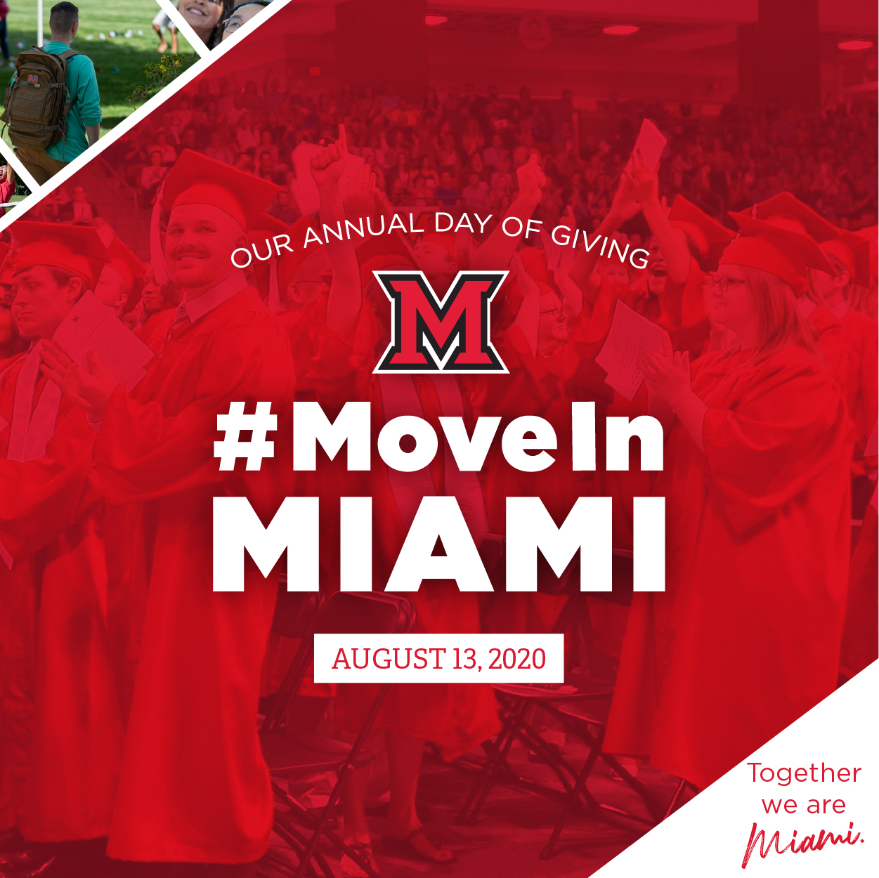 #MoveinMiami Annual Day of Giving August 13, 2020.