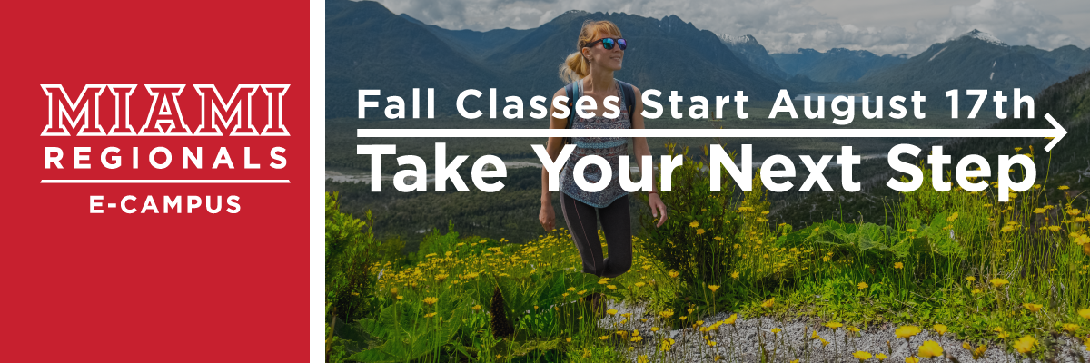 Stay on your Path: Register for Fall Semester before August 17th