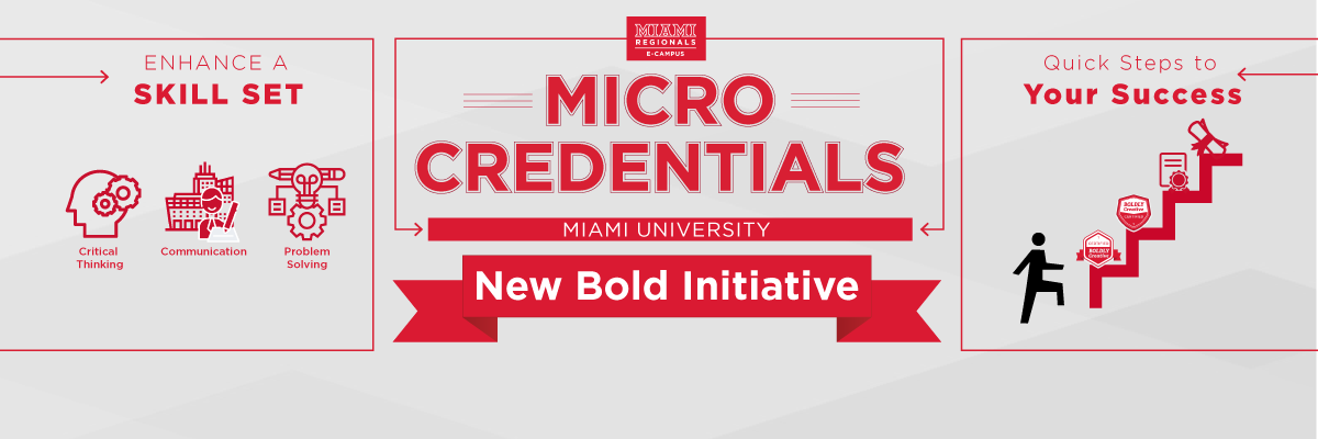 Microcredentials Learn a New Skill Set
