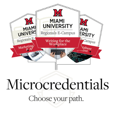 Microcredentials Learn a new skill today