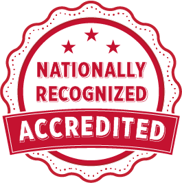 Nationally Recognized, Accredited.
