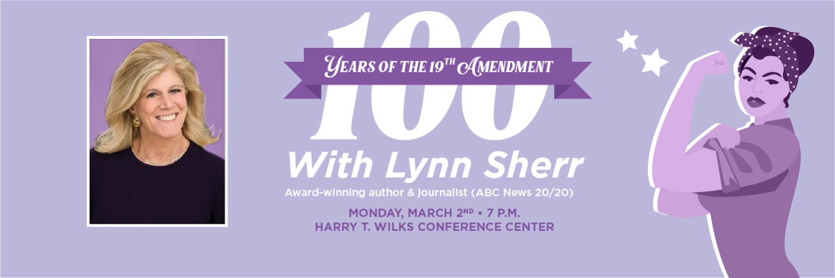 100 Years of the 19th Amendment with Lynn Sherr, Award-winning author and journalist (ABC News 20/20)