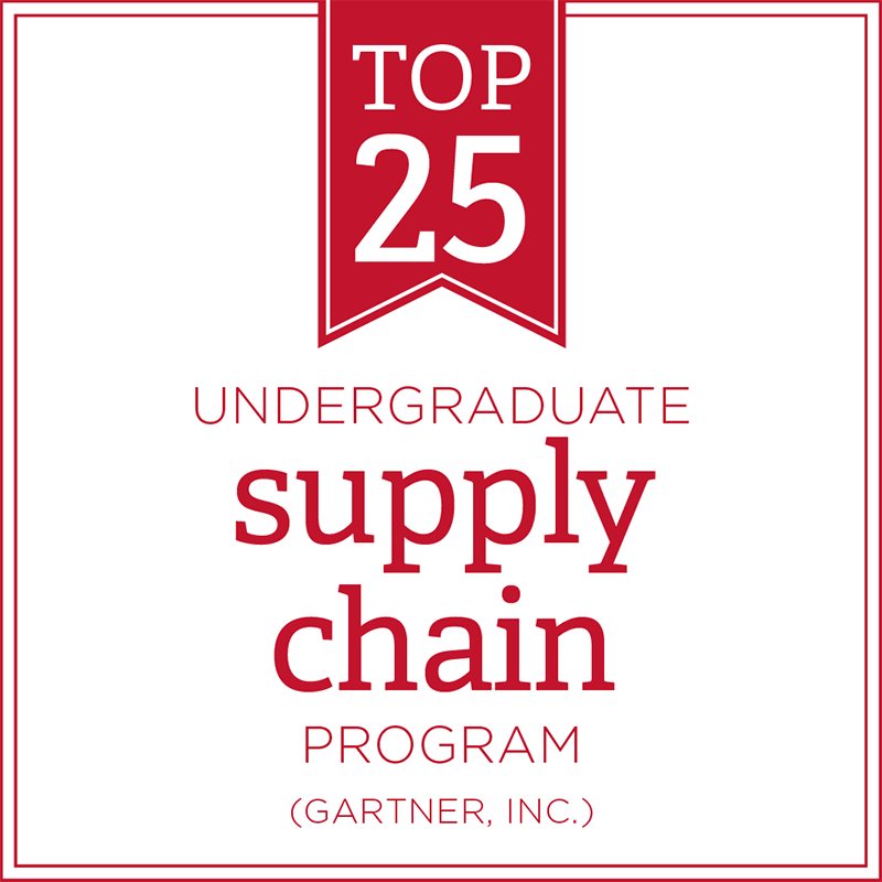 Top 25 undergraduate supply chain program - Gartner, Inc