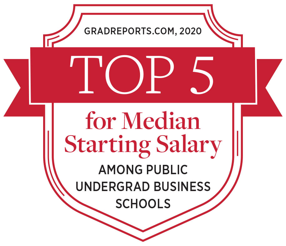 Top 5 salary badge
