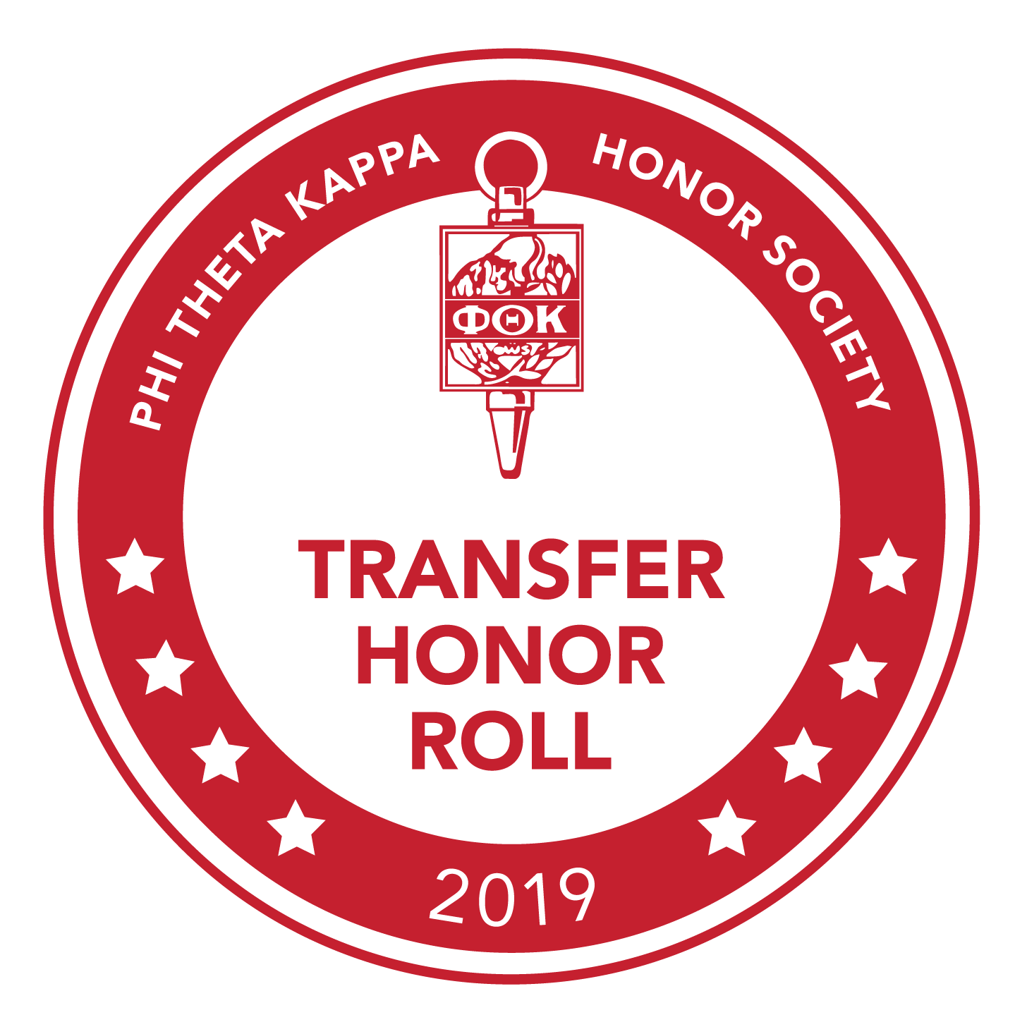 Phi Theta Kappa Honor Society. Transfer Honor Roll 2019